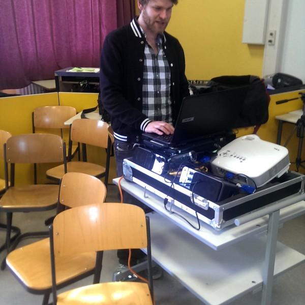 SMC-Referent Christian Bluthardt