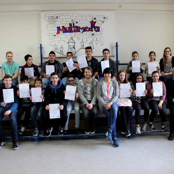 Die SMC's der Lerchenrainschule in Stuttgart-Süd